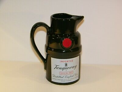Imported Tanqueray English Dry Gin Dark Green Barware Pitcher # 1340