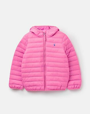 Joules Baby Girls 208961 Quilted Jacket - LIGHT PINK Size 4yr