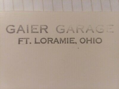 1965  Gaier Garage, Ft Loramie, Ohio  booklet  Plymouth Dealer,  J.F.K. pictures
