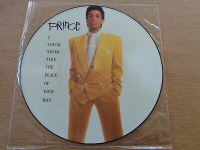 """PRINCE 12"""" Picture Disc : I Could Never Take The Place Of Your Man : W8288TP"""