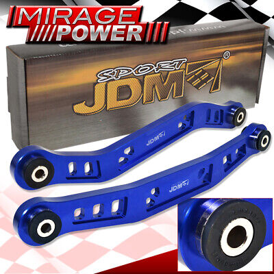 90-93 ACCORD 2DR 4DR JDM STYLE REAR LOWER ALUMINUM CONTROL ARM REPLACEMENT BLUE