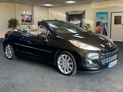 2010 Peugeot 207 Cc Gt + Cream Leather + Immaculate + Buy Online Free Delivery +