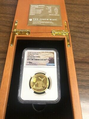 2018 Australia $100 1 Oz Gold Wedge Tailed Eagle High Relief Ngc Pf70 Ultra Cam