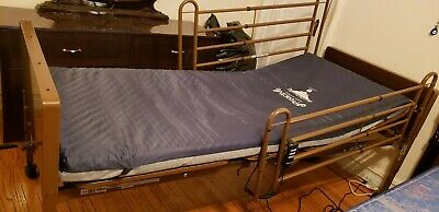 Invacare Full Electric Hospital Bed Set - Good Condition