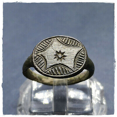 Ancient LEGIONARY-MILITARY BRONZE ROMAN RING !!! 3,87g