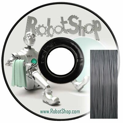 Silver ABS 1.0kg Spool 1.75mm Filament