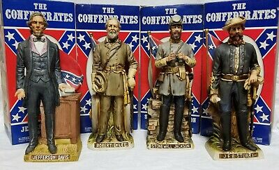 Vintage McCormick The Confederate Series Decanter Set - with Original Boxes