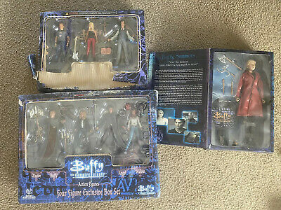 Rare Buffy The Vampire Action Figure Lot Sideshow & Moore Collectibles Box Sets