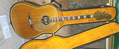Rare Vintage FENDER WILDOOD IV Acoustic Electric Guitar