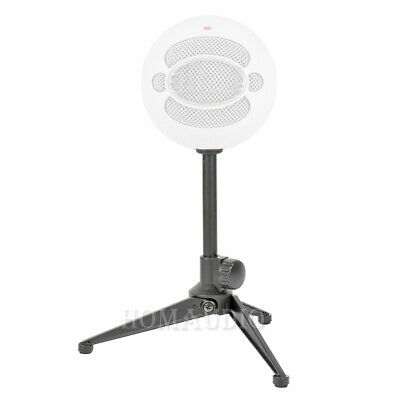 Tripod Desktop Microphone Stand Tabletop Mic Holder Boom For Blue Snowball Ice