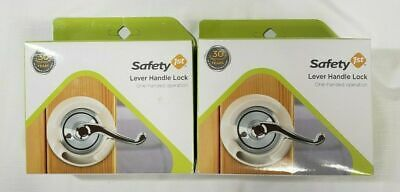 2 Pack Baby Safety 1st Door Lever Handle Lock One Handed Operation