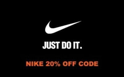 Nike Usa 20% Discount Code - Instant Delivery *100% Working*