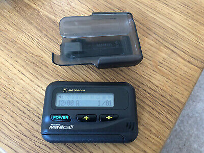 Vintage Motorola Page One Mini Call Pager Great Condition Good Working Order