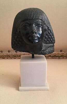 Egyptian Museum Reproduction Replica Head of a Queen Copyright 1969 AMR
