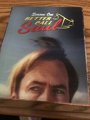 Better Call Saul: Season 1 Limited Collectors Edition 3 Blu-ray Disc Set