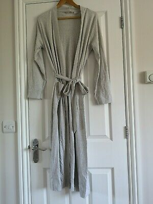 Lands' End ladies dressing gown, light Grey size S