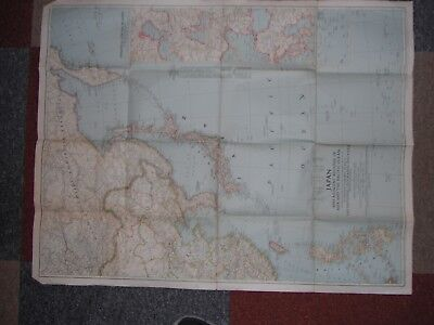 Old map of the world x 6 Originals not reproductions all from 1942 to 1948