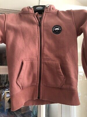 Girls Pink Hoody Soulcal And Co Aged 9-10