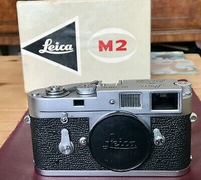 Leica M2 Body Nr. Mint Boxed 35mm Vintage Rangefinder Camera by Leitz Wetzlar