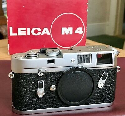 Leica M4 35mm Rangefinder Camera Body Nr. Mint Boxed Vintage Leitz Wetzlar