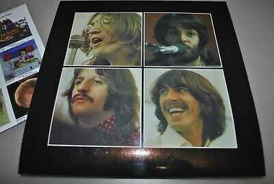 The Beatles - Let It Be Box  set  -  outer cover and poster and Free shipping