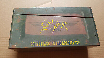 Slayer ‎– Soundtrack To The Apocalypse -3xcd box- Limited CD/LP