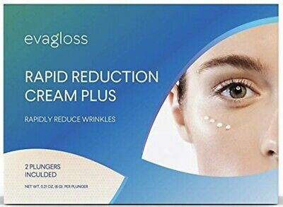 Evagloss RAPID REDUCTION CREAM PLUS , Visibly Reduce Under-Eye Bags, Wrinkles...
