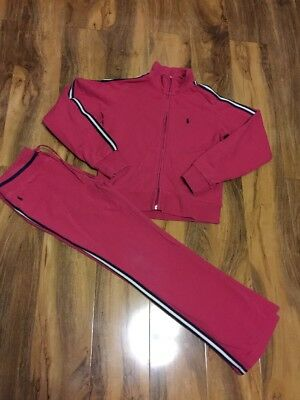 Ralph Lauren Girls Tracksuit Aged 10/11 Years Old