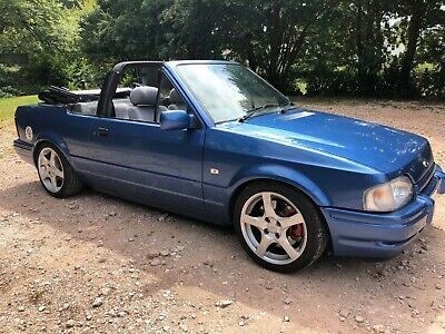Ford escort  cabriolet mk4 lovely car Fun and reliable