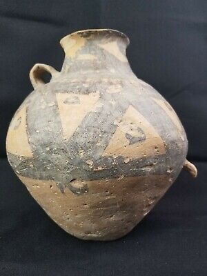 Chinese Neolithic Pot 10""