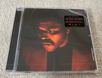 The Weeknd - After Hours HMV UK Exclusive CD (sealed)