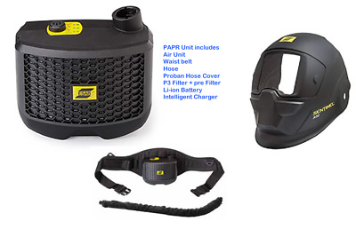 Esab Sentinel A50 For Air Conversion Kit (Headshield + PAPR Backpack)