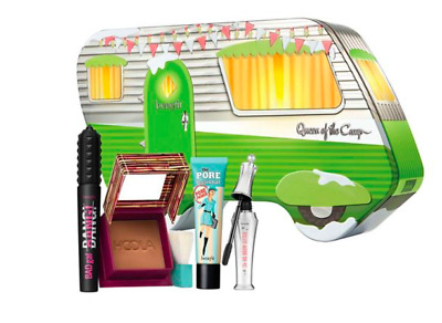 Worth £97.50 BENEFIT Christmas Gift Set Queen of the Camp.primer mascara bronzer