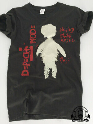T-shirt Rock Depeche Mode Playing The Angel Couleur Dark/Grey Style vintage Neuf