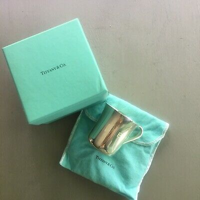 """Tiffany & Co. Sterling Silver Classic 925 2.25"""" Baby Cup Monogrammed"""