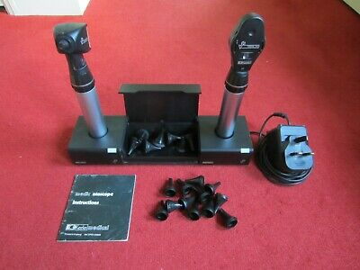 Keeler ophthalmoscope and otoscope diagnostic set - rechargeable