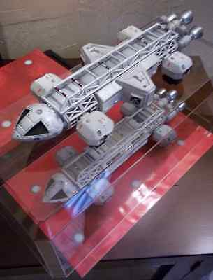 Space 1999 Eagle-1 TRANSPORTER Gerry Anderson show,Prop  Nice Clear Case