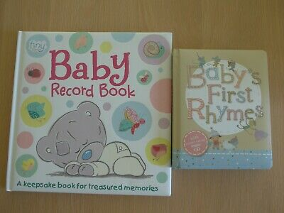 Baby Record Book And Baby's First Rhymes