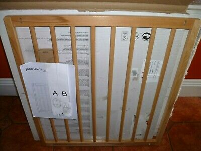 J Lewis Beech Wood Baby/Childs safety gates