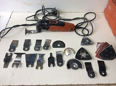 Fein FMM250Q 230v Quickrelease Multimaster + many Blades and Accesories