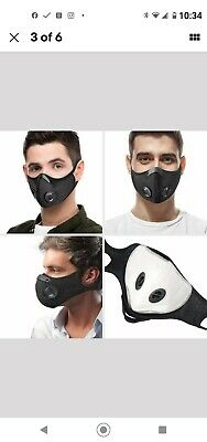 Cycling Mouth-muffle Biker Face Shield Protective Dustproof Haze Fog Mouth Cover