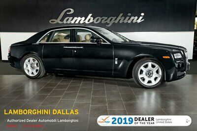 "2010 Rolls-Royce Ghost  COMFORT ENTRY+NAV+RR CAM+20""  CHROME WHEELS+PANORAMIC+DYNAMIC CRUISE+SOFT CLOSE"