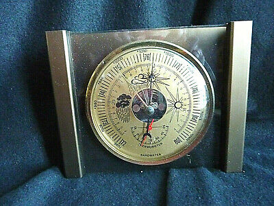 Barometer, Thermometer, Messing gefaßt, Nachlass