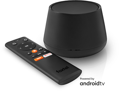Foxtel Now Box Built-In Chromecast Ultra 4K Fta Tv Tuner Android Apps Usb Remote