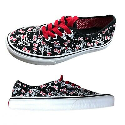 Vans of The Wall X Hello Kitty Colab All Over Print Womens Shoes Sneakers Sz 6.5