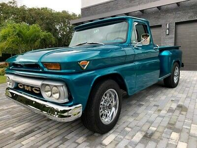 1966 GMC Other CUSTOM LONG BED 1966 GMC 1500 Pickups CUSTOM LONG BED 750 Miles Teal  Select 4 Speed