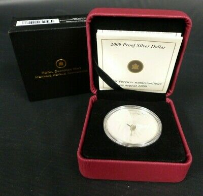 2009 Canada 1 Dollar 925 Sterling Coin 100Th Anniversary Of Flight