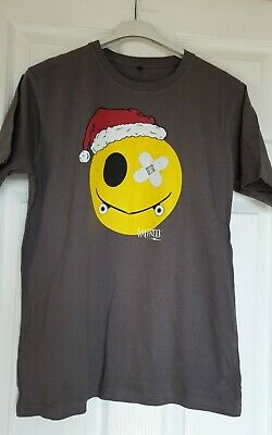 Excellent Condition Salt Rock Grey Christmas T-shirt Age 13 Years