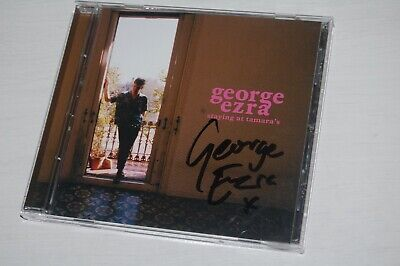 George Ezra - Staying At Tamara's (2018) SIGNED/AUTOGRAPHED CD