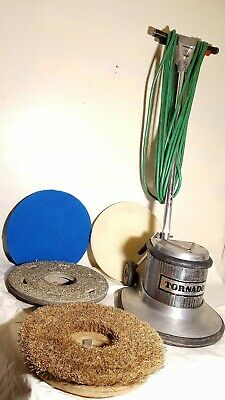 "Tornado 283  17"" Floor Machine Buffer/Polisher/Stripper/Scrubber w/Pad Driver"